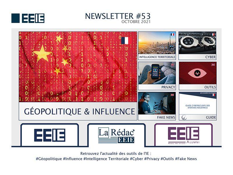 Newsletter 53 : Géopolitique & Influence